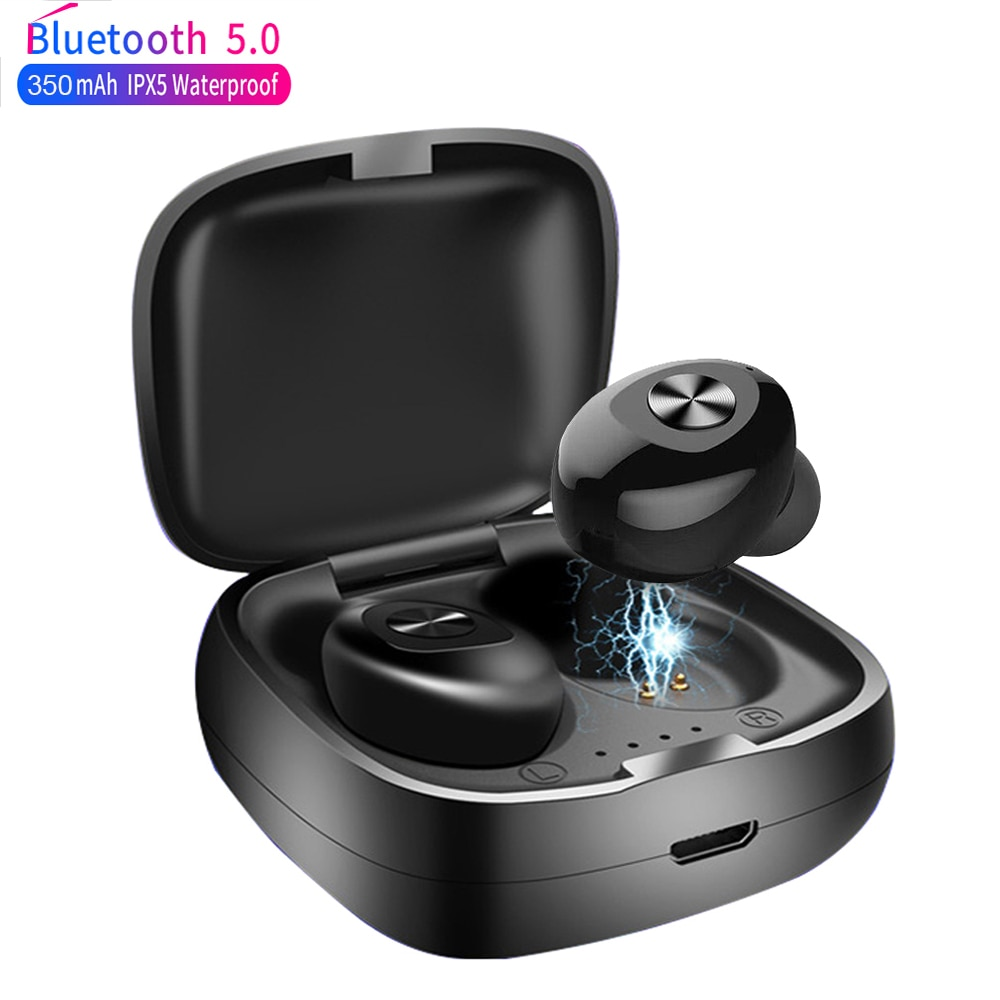 XG12 TWS Wireless Bluetooth 5.0 Earphone Stereo HIFI Sound Sport Earphones Handsfree In Ear Gaming Headset With Mic For iPhone