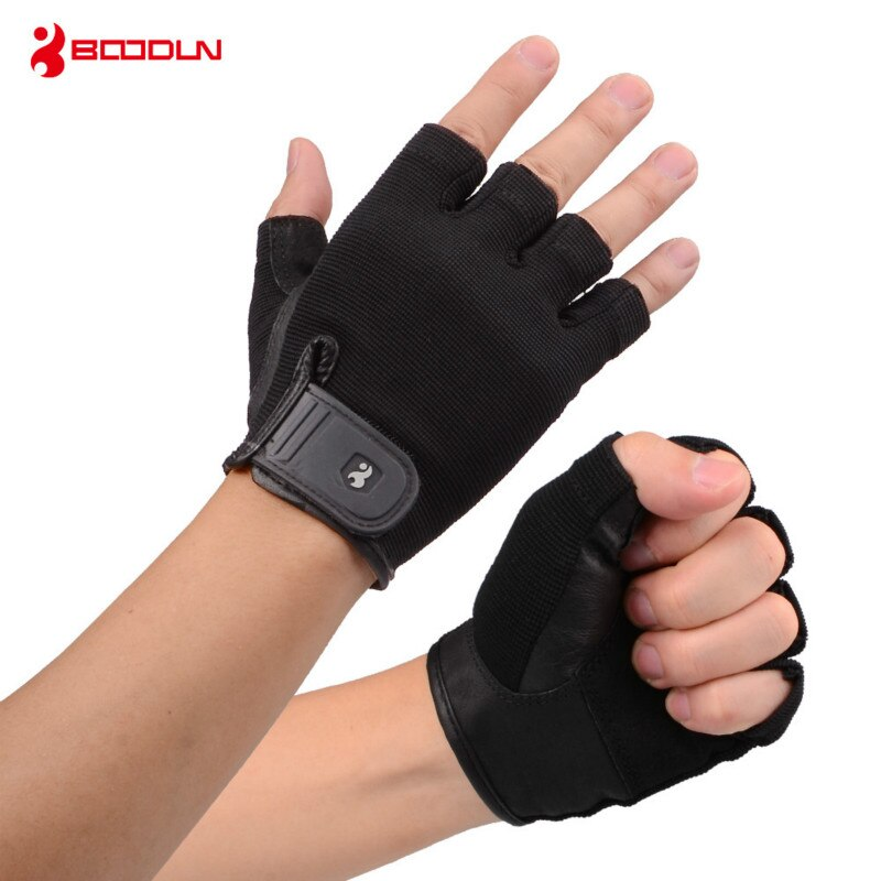 Boodun дышащий материал спортивные перчатки для тренажерного зала с ладонью