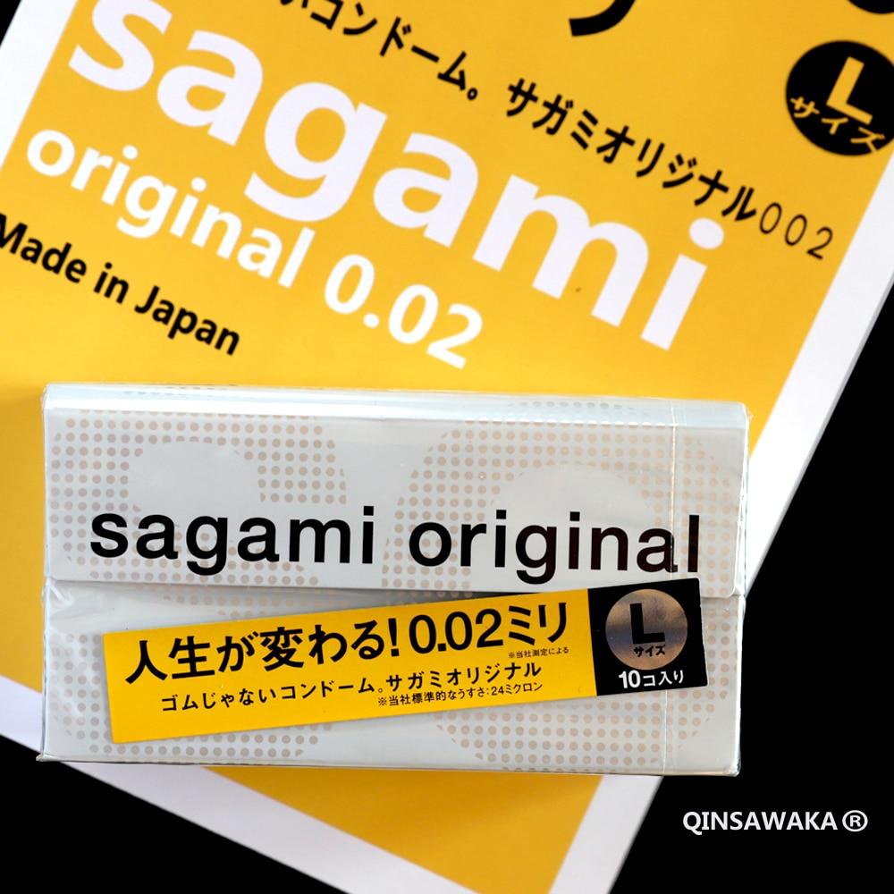 Qinsawaka select Made in Japan 10pc 0.02 super thin like not wearing  ORIGINAL condoms NO Latex Allergy Polyurethan sex