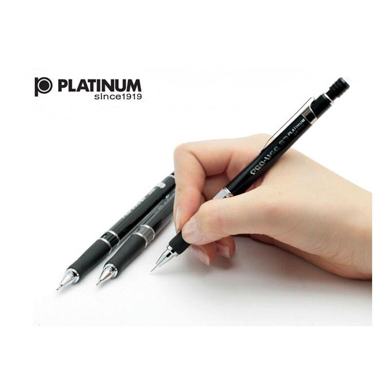 Japón platino MSD-500 lápiz mecánico 0,3/0,5/0,7mm lápiz mecánico gráficos profesionales lápiz automático