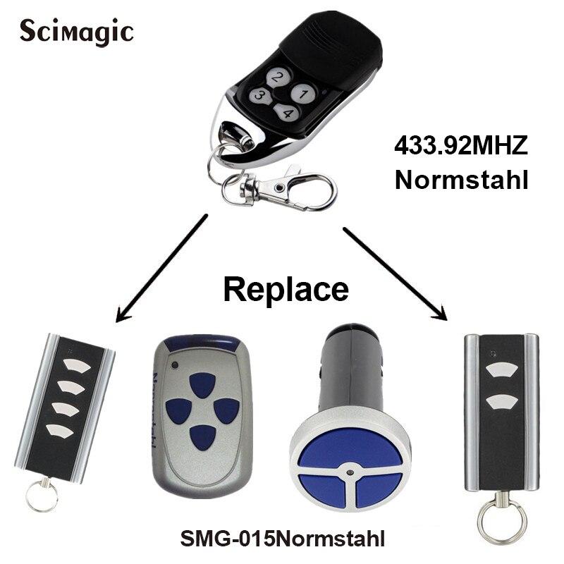 2pcs frete grátis controle remoto da garagem Normstahl RCU 433 2K-rolling code 433.92 MHz portão frete grátis remoto