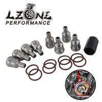 LZONE High Pressure Oil Rail Ball Tube Repair Kit with Tool & O-rings for Ford F-250/F-350 6.0L 03-10 Car Repair Tools JR-FRR01