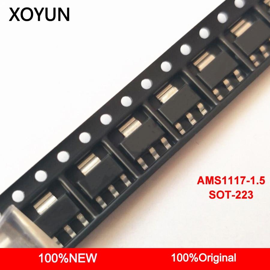 50pieces/lot AMS1117-1.5 AMS1117 1.5 AMS1117-1.5V  SOT-223 New and origina