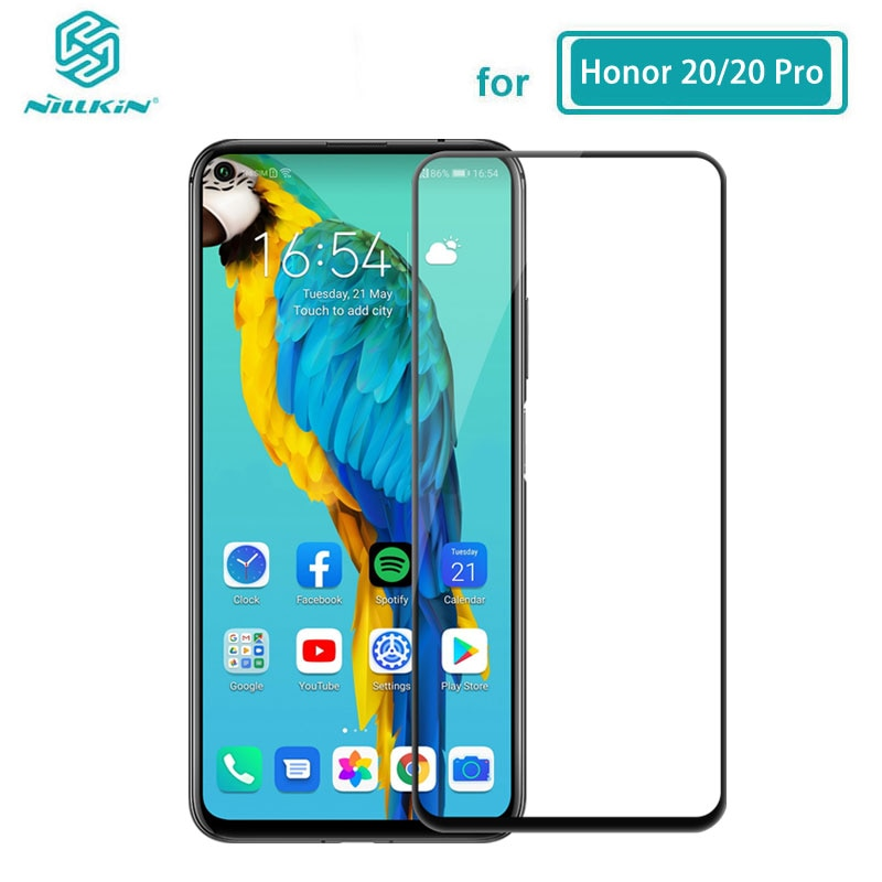 Tempered Glass for Huawei Honor 20 Pro 20S Nova 5T Nillkin CP+Pro 2.5D Full Glue Screen Protector Huawei Honor 20 Glass