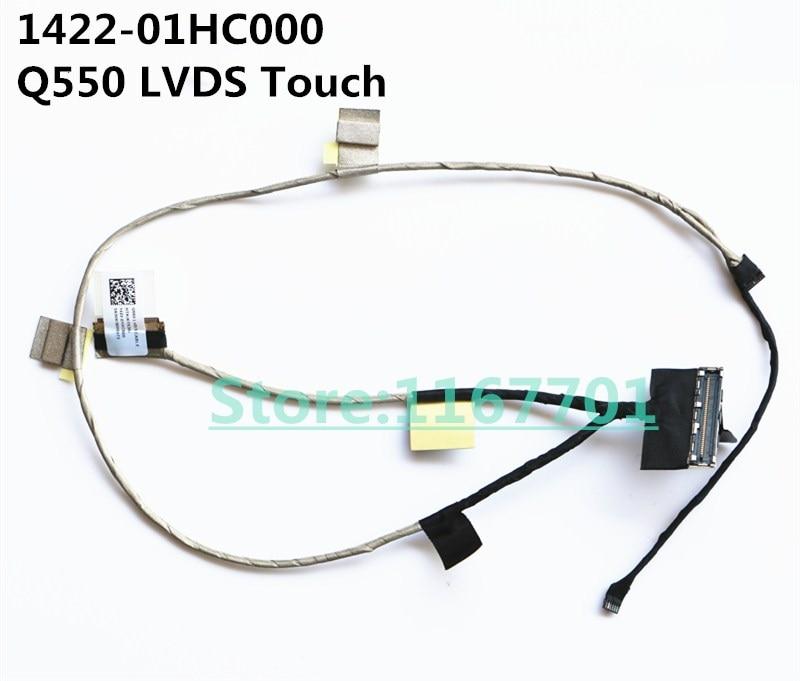 Original novo Laptop/Notebook LCD/LED/LVDS Cabo de Asus Q550LF Q550L Q550 1422-01HC000 LVDS Toque