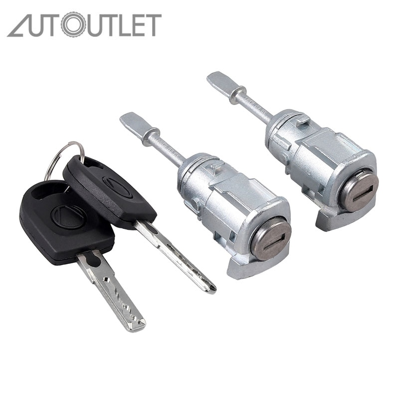 AUTOUTLET, 2 uds., cilindro de cierre para VW PASSAT B5 3B (96-05),...