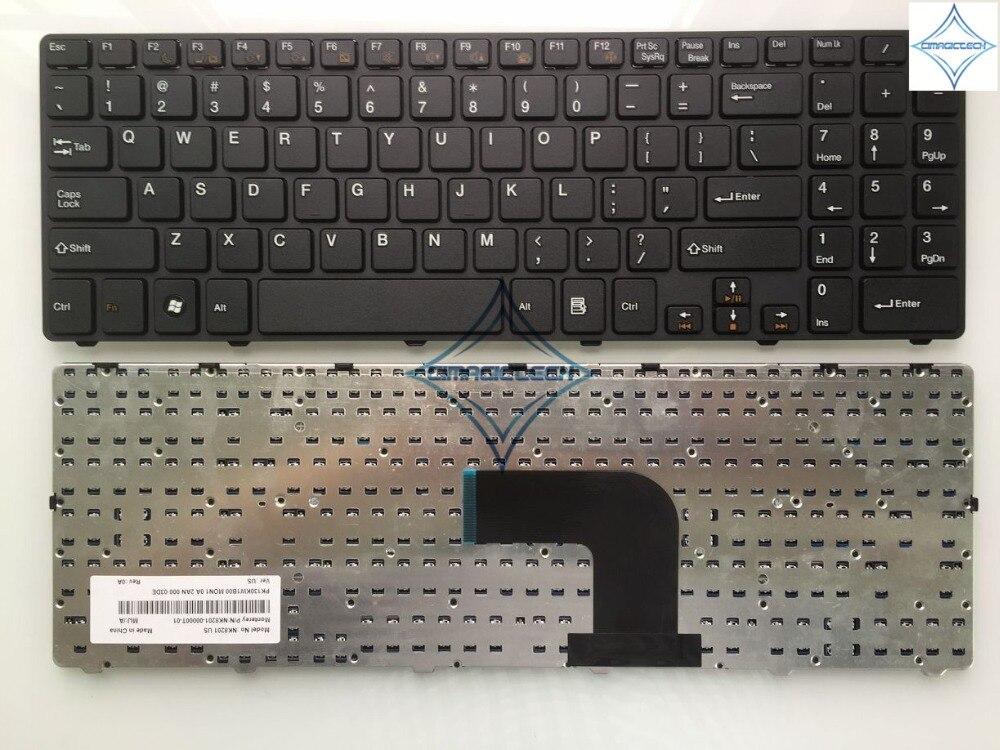 Novo original para Compal QAL50 QAL51 NK8201 Teclado inglês DOS EUA teclado do laptop NK8201-00000T-01 PK130KW1B00