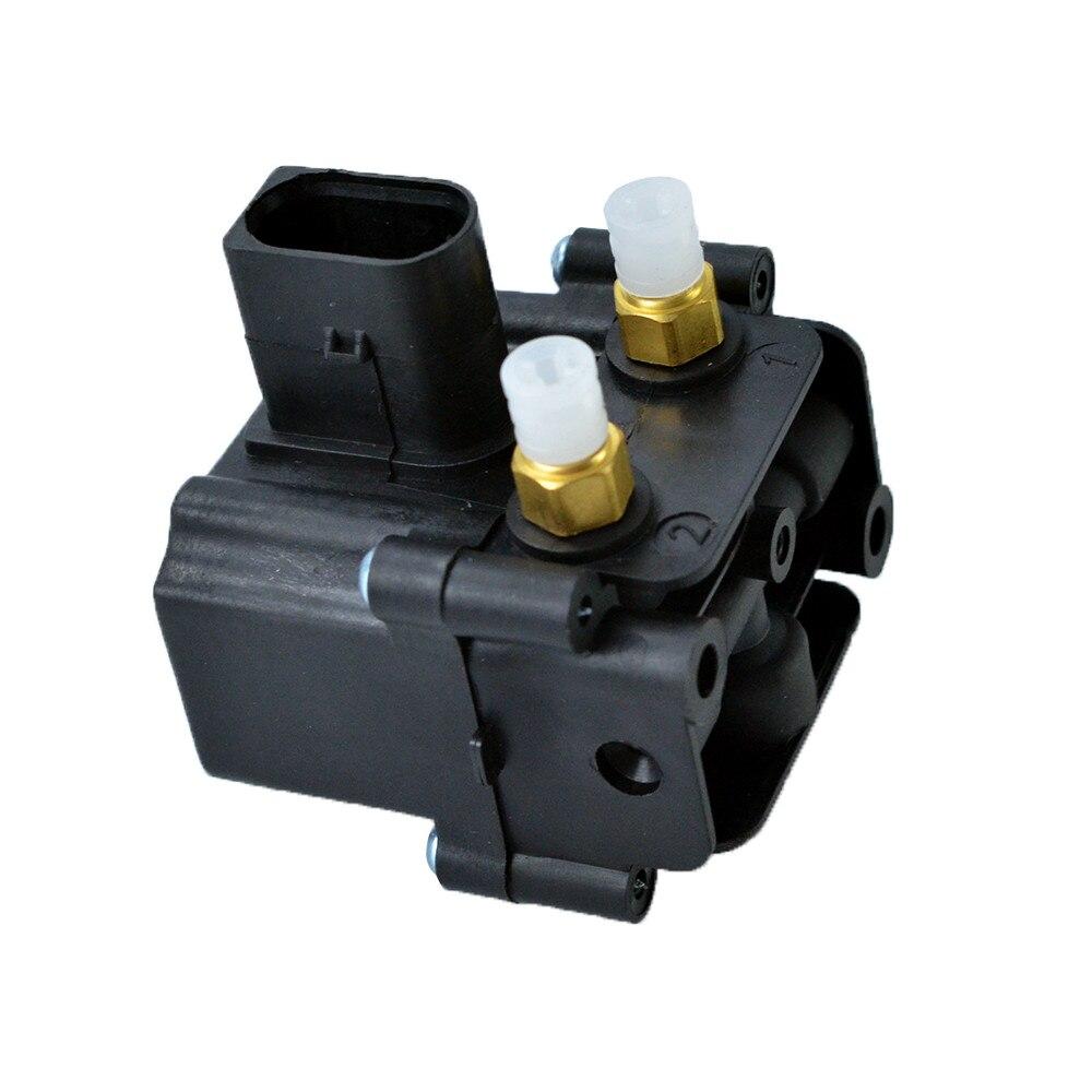 Compresor de aire de la válvula de bloqueo de aire bloque de suministro para BMW F01 F02 F07 F11 37206864215 de 3720 de 6864 a 215