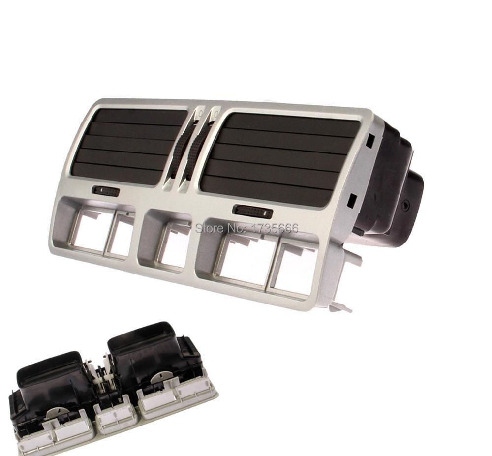 Черная приборная панель центрального вентиляционного отверстия 1J0 819 728 E/F 2AQ для VW Bora Golf Jetta GTI MK4