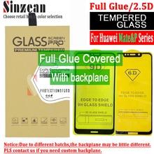 Sinzean 50 قطعة 2.5D كامل الغراء الزجاج المقسى 5D/6D واقي للشاشة ل huawei mate 20 لايت p20 برو p الذكية زائد مع لوحة الكترونية معززة