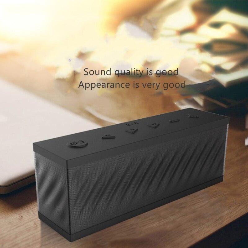 Bluetooth Lautsprecher Karte und U Disk Tragbare Lautsprecher Altavoces Rechteck Drahtloser Woofer Musik Zentrum Caixa De Som Altavoz F4079