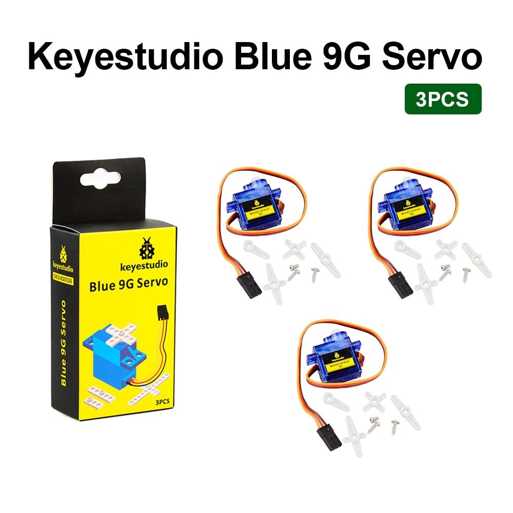 3 шт. Keyestudio MINI SG90 9G 90 градусов Серводвиг