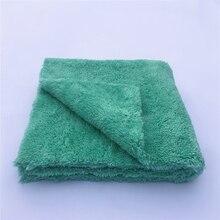 """50 шт./упаковка 450GSM беззубное полотенце из микрофибры без царапин 16 """"X16"""" Премиум полировка автомобиля, полировка полотенец"""