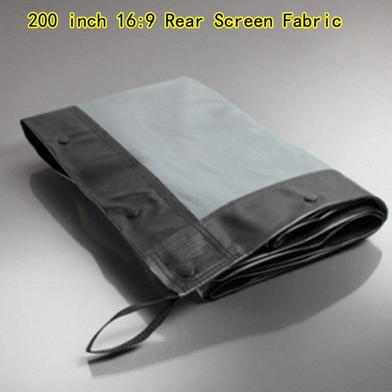 قماش للشاشة الخلفية مقاس 200 بوصة ، 16:9 HD ، لشاشة عرض بإطار سريع الطي ، ذات نوعية جيدة ، بدون حقيبة نقل