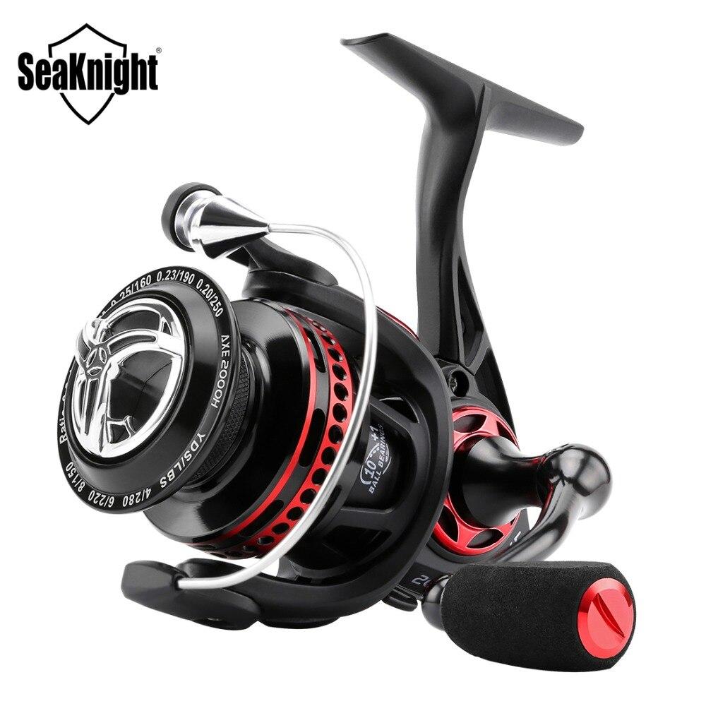 SeaKnight AXE 2000H 3000H 4000H carrete de pesca 6,2 1 cuerpo totalmente de Metal, diseño impermeable, carrete anticorrosión 10 + 1BB