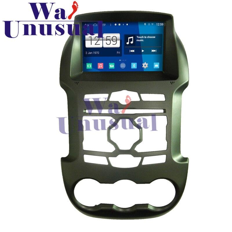 "WANUSUAL 2017 estilo de coche 8 ""Android 4.4.4 reproductor Multimedia para auto Ford Ranger Ford navegación GPS 1024*600 Quad Core 16G mapas"