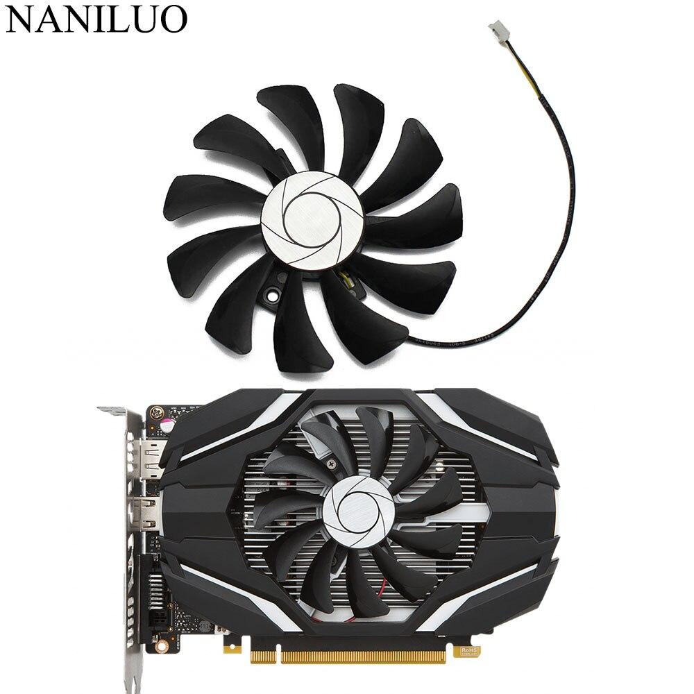 AliExpress - HA9010H12F-Z 85MM 0.57A 2Pin GTX1050 GPU Cooler Fan For MSI Geforce GTX 1050 2G GTX 1050Ti 4G OC Graphic Card Cooling