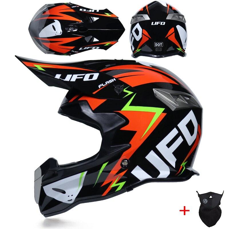 Capacete para motociclista, capacete de corrida off-road clássico com viseira, para mountain bike dh