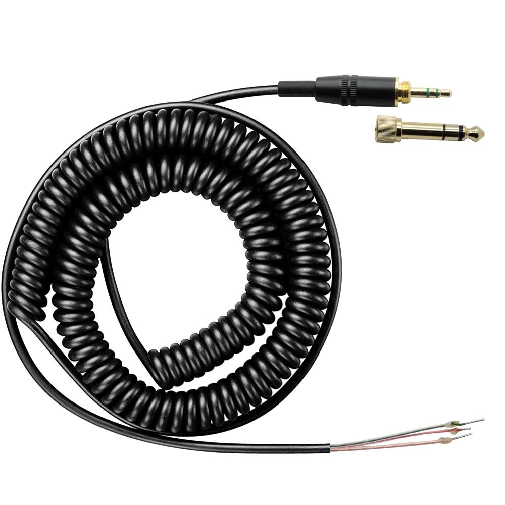 Сменный шнур Poyatu, кабель для наушников SONY MDR 7506 7509 V6 V600 V700 V900 MDR 7506, спиральный Сменный кабель для ди Джея cable filling cable tv cablecable extension cable   АлиЭкспресс