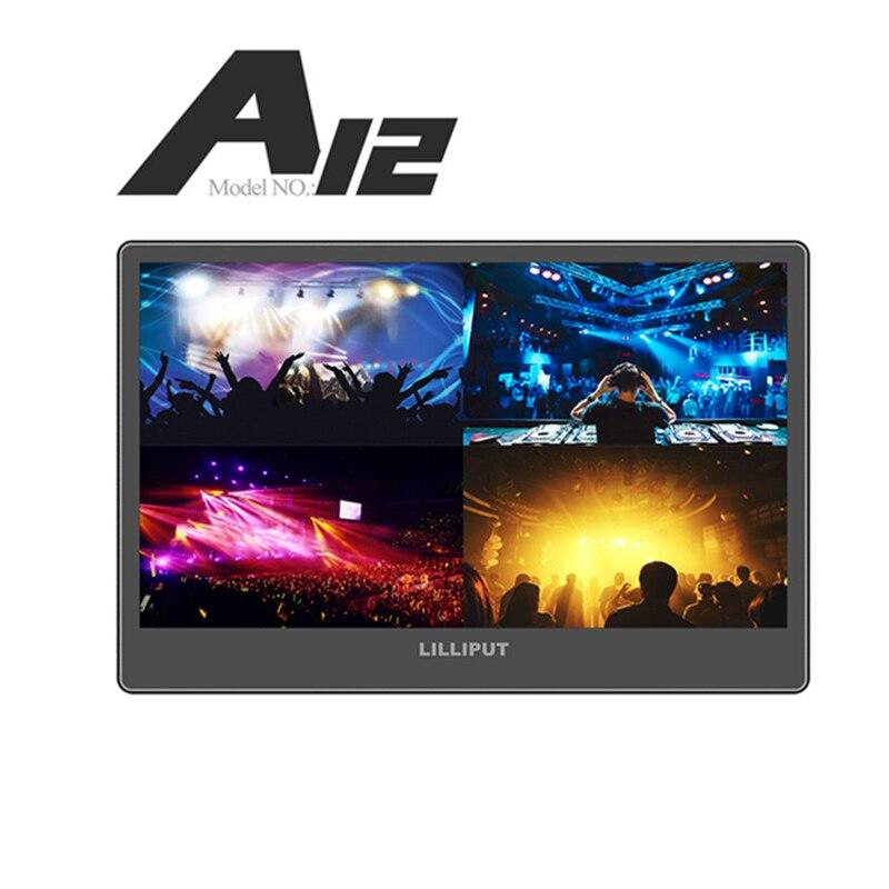 Lillimode-شاشة A12 مقاس 12.5 بوصة IPS فائقة النحافة 4K ، 3G SDI ، full hd ، سطح المكتب ، 3840x2160 ، SDI ، HDMI ، لكاميرات dslr