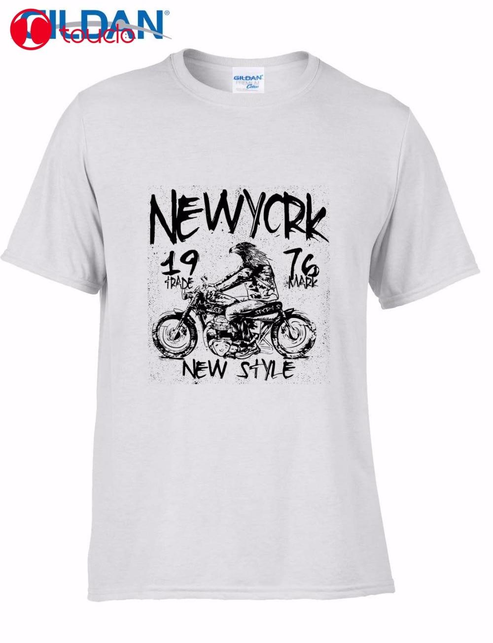 Camisetas cuello redondo 2019 para hombre de manga corta Vintage para fanáticos de la motocicleta camiseta diseño gráfico estilo de impresión camiseta suéter