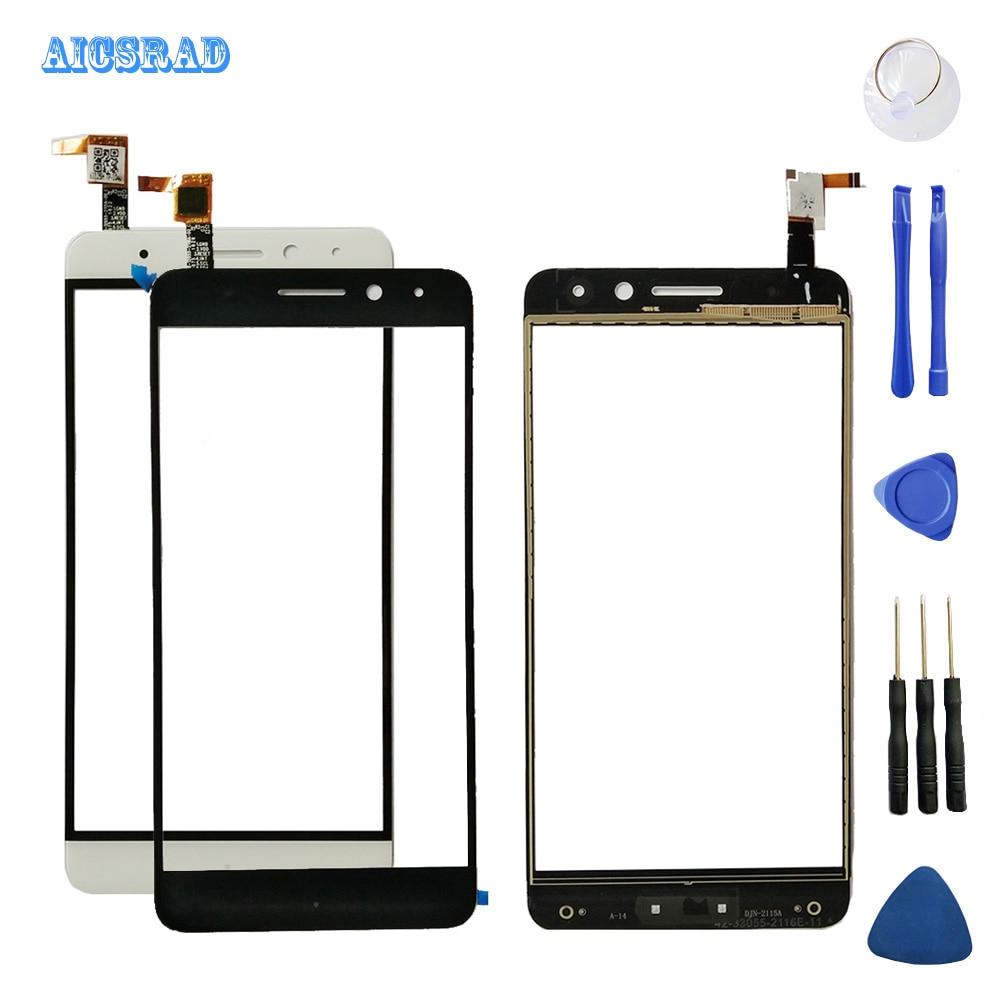 Vidrio exterior frontal Android one para General mobile GM 5 Plus Panel táctil pantalla táctil digitalizador Sensor reemplazo gm5 + herramientas