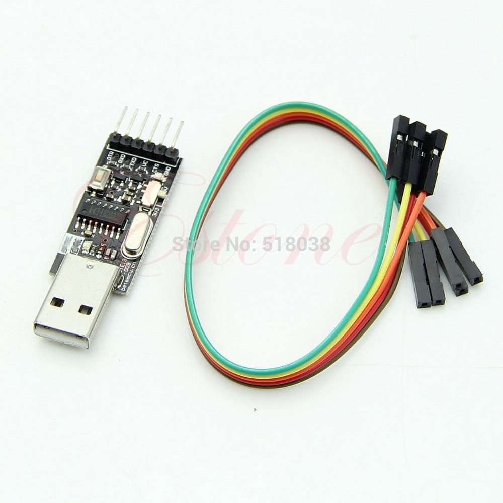 C18 Venta caliente más nuevo 6 pin CH340G Convertidor para STC Arduino PRO en lugar de CP2102 PL2303USB2.0 a TTL