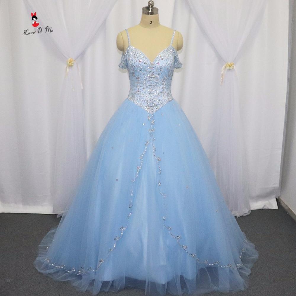 Barato inchado borgonha azul claro quinceanera vestidos 2017 debutante vestidos de 15 anos doce 16 vestido para 15 anos de cristal