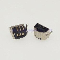 10 pces dois sistema de jogo ligação cabo interface soquete fêmea para gba jogar contra cabo conector interface usb para gba sp