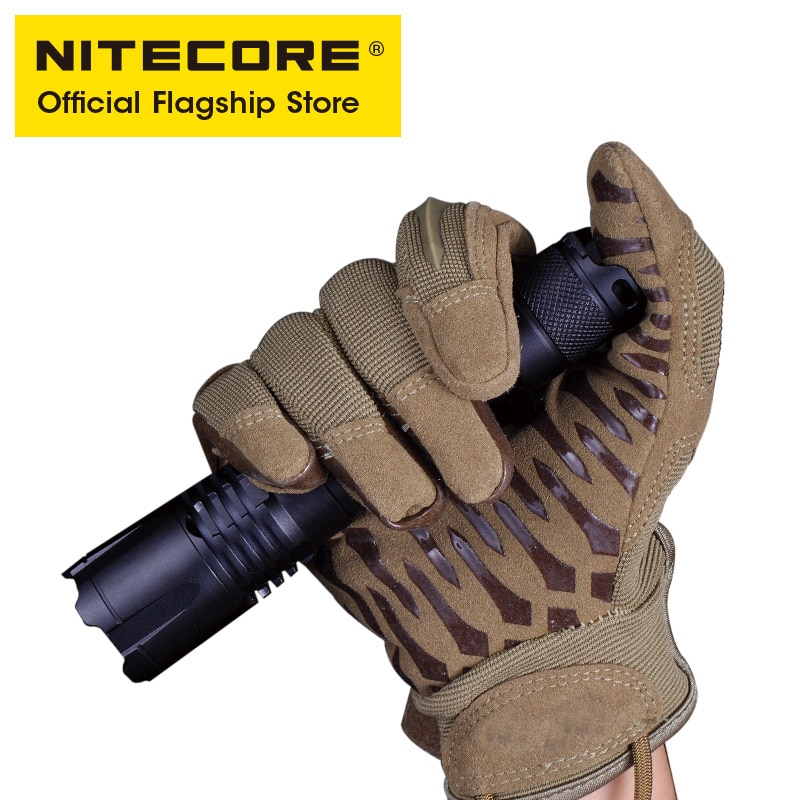 NITECORE MH25GTS Tactical Flashlight USB Rechargeable High-bright Ultra-bright Long-range Self Defense Torch Light 1800 Lumens enlarge