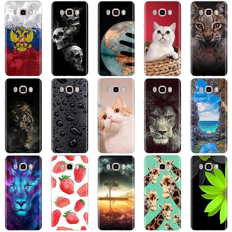 "Funda de teléfono para Samsung Galaxy J5 2016, funda para Samsung Galaxy J5 2016, funda, funda de silicona TPU suave, bolsas para teléfono SM-J510F 5,2"""