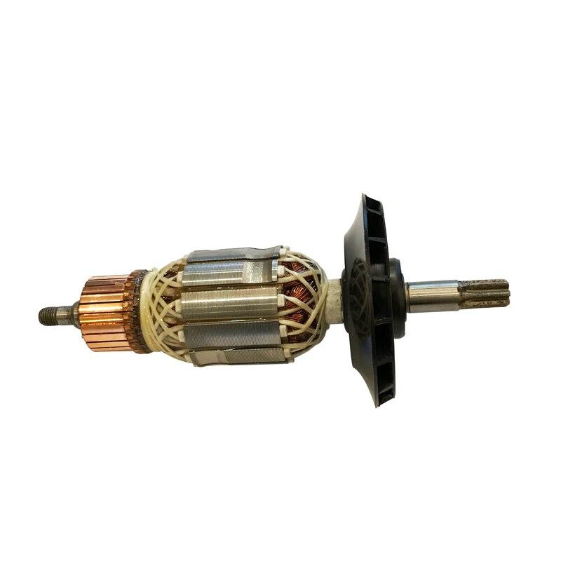 220V AC/240 V GBH 5-40 armadura del Rotor de repuesto para BOSCH GBH5-40 GBH5-40D GSH5CE GBH 5-40D GSH 5CE demolición martillo