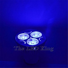 Nueva lámpara de foco LED CREE MR16 GU5.3 12V 220V 9W 12W 15W lámpara de foco LED GU10 blanco cálido rojo azul verde envío gratis
