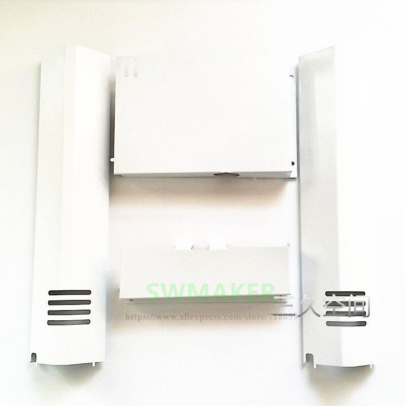UM2 Ultimaker 2 se 3D impresora de metal Ulticontroller cubiertas electrónicas placa base electrónica de visualización de la cubierta de metal kit/conjunto