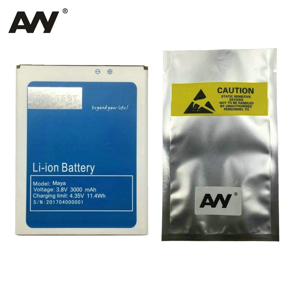 AVY батарея для Bluboo Maya 5,5 дюймов батареи для мобильного телефона замена Li-Ion Bateria 3000 мАч 100% Протестировано в наличии