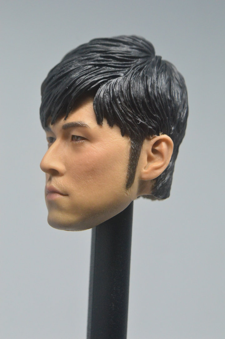 1/6 personalizado música asiática estrella gigante Jay Chou superestrella Headsculpt en Stock