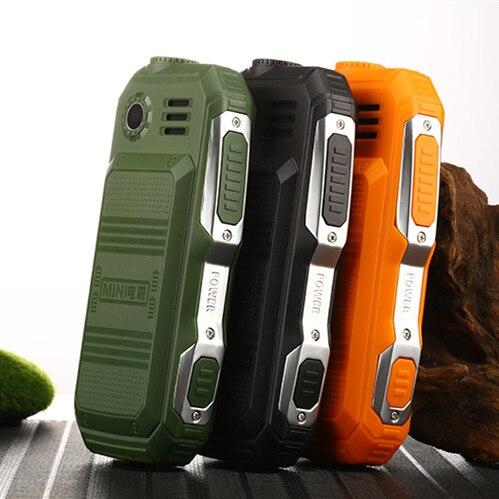 Rugged Mini teléfonos móviles Dual SIM soporte ruso Keybord Big Button gran voz barato teléfono calculadora L99 F88