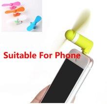 Draagbare Reizen Gadget Flexibele Mini Micro Usb Fans Voor Samsung Xiaomi Android Telefoon Thuis Fan Voor Iphone X 5 6 6 S Plus 7 8 Plus