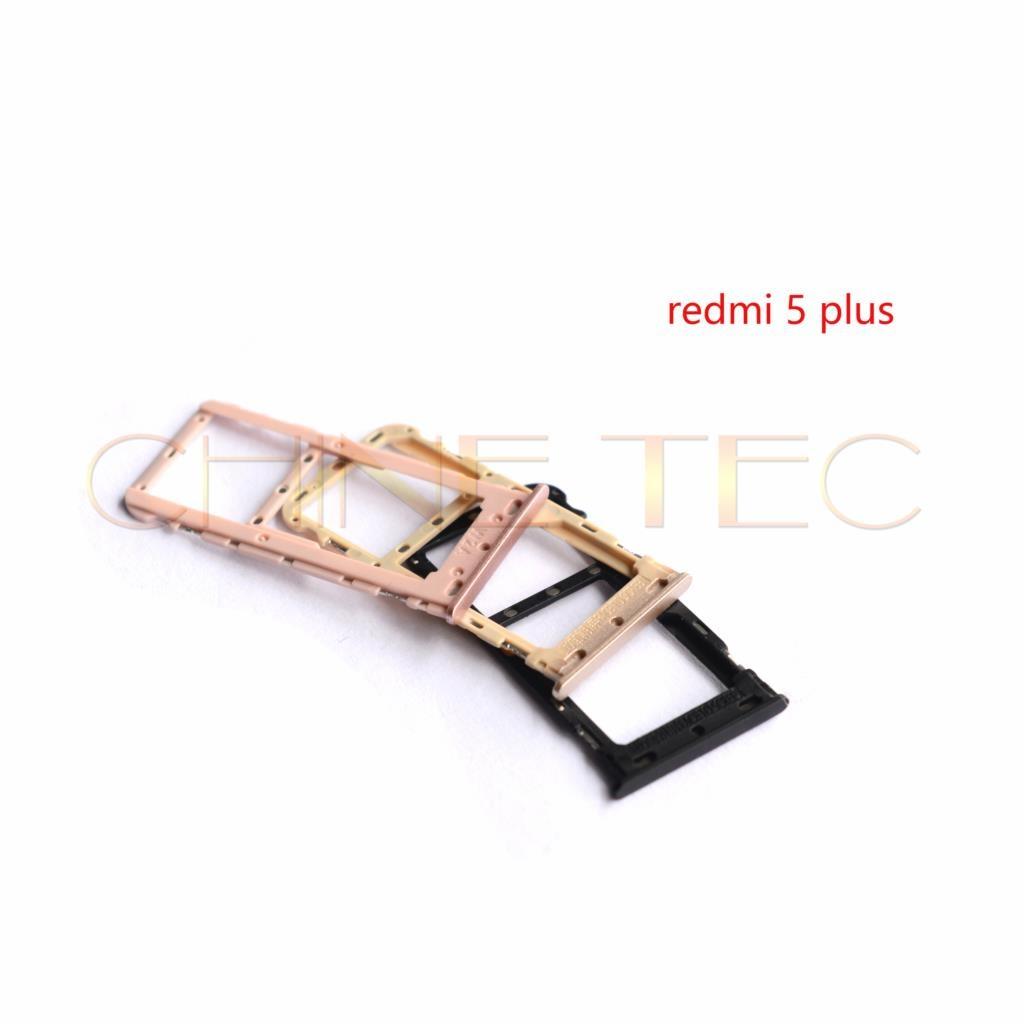 Soporte para tarjeta Micro SIM/bandeja de tarjetas Micro SIM, adaptador de ranura para tarjeta Micro SD para Xiaomi Redmi Note 5 redmi 5 plus