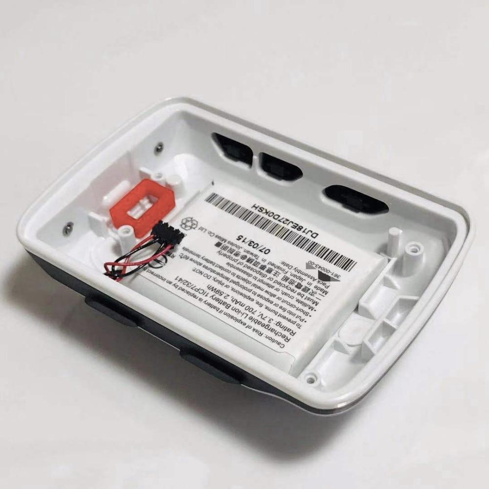 GARMIN EDGE 520 cubierta trasera del medidor de velocidad de la bicicleta con reemplazo de la batería (sin táctil y LCD) cubierta trasera