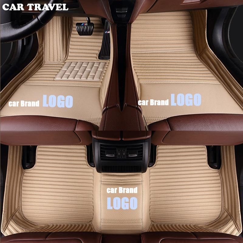 CAR TRAVEL car floor mats for Buick LOGO Buick Enclave Regal PARK AVENUE LACROSSE ENCORE excellegt GL6 GL8 VELITE 5 car-styling
