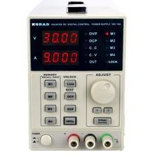 KORAD KA3010D -Precision Variable Adjustable 30V, 10A DC Linear Power Supply Digital Regulated Lab Grade