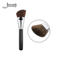 jessup powder brush makeup brush cosmetic angle contour bronzer cream liquid fiber hair 023