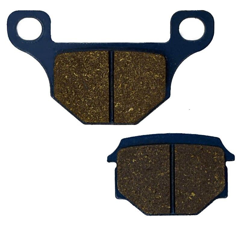For DERBI Mulhacen 125 Mulhacen125 4T From Ref no.7N001791 Spoke wheel/single pin fixing 2007-2011 Motorcycle Brake Pads Rear