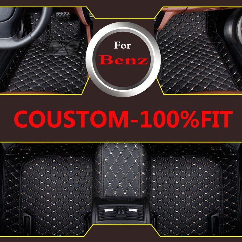 Car Style Custom Car Floor Mats For Mercedes Benz S Class W221 W222 S400 S500 S600 3d Car Styling Carpet
