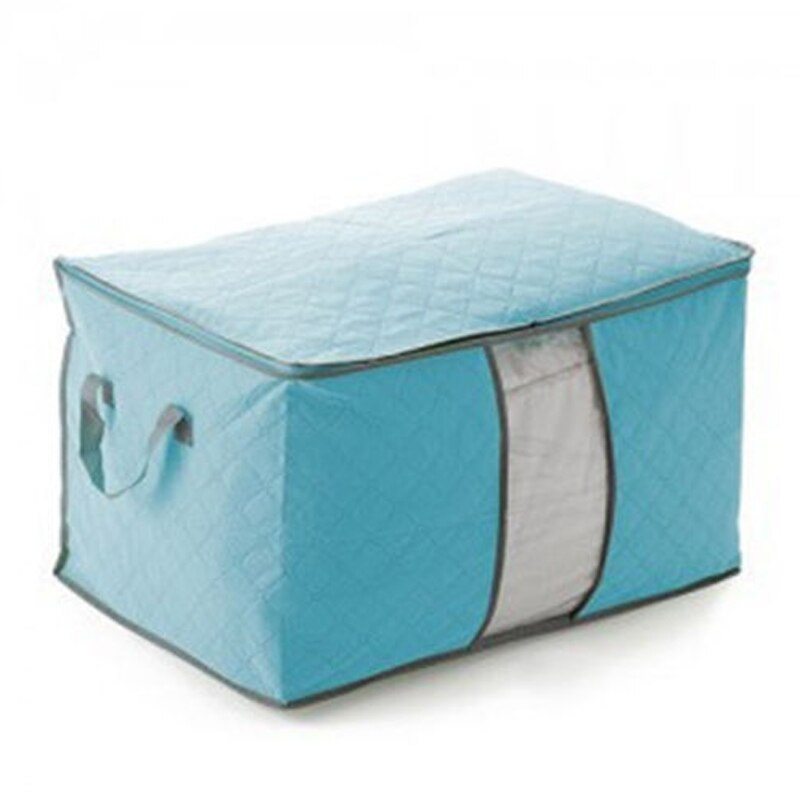 Bolsa de almacenamiento plegable ropa manta edredón armario suéter organizador caja bolsas