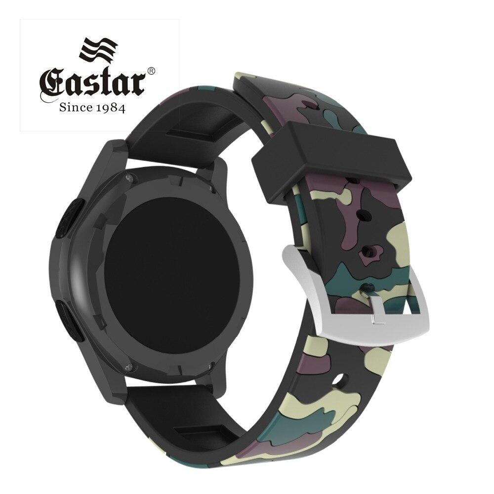 Correa de silicona verde militar para Samsung Gear S3 s2, Correa deportiva clásica para reloj xiaomi huami amazfit bip pace lite