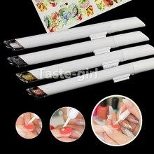 Новинка, 12 типов стальных шариков, ручка для раскрашивания ногтей, инструмент для дизайна ногтей, маленькие шариковые икры, аксессуары для м...