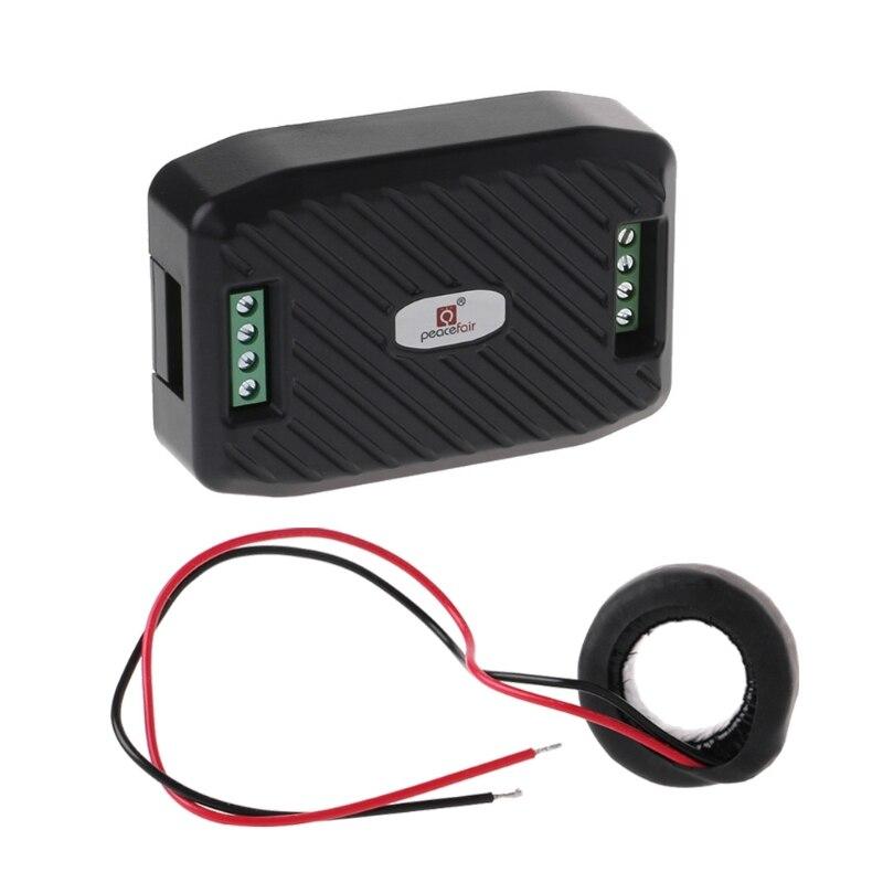 Medidor de energía Digital AC 100A voltímetro amperímetro voltaje corriente medidor de corriente RS485 Modbus PC software monitoreo W315