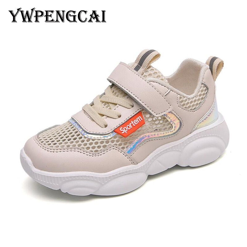YWPENGCAI Spring Summer Kids Shoes Net Mesh Breathable Sneakers Boys Shoes Casual Sport Girls Shoes
